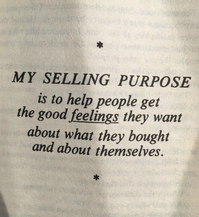 selling purpose