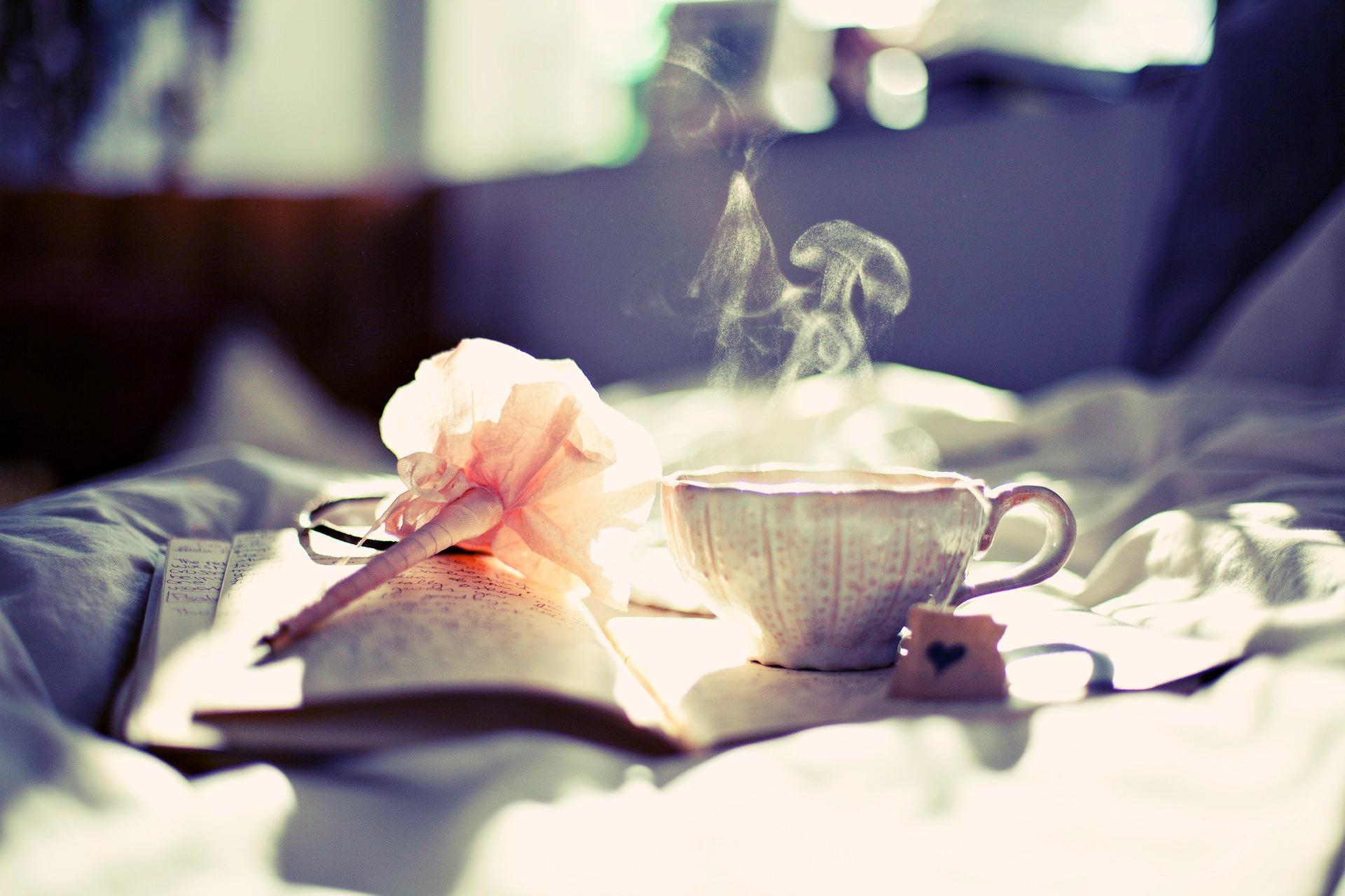 čaj a citáty o létě