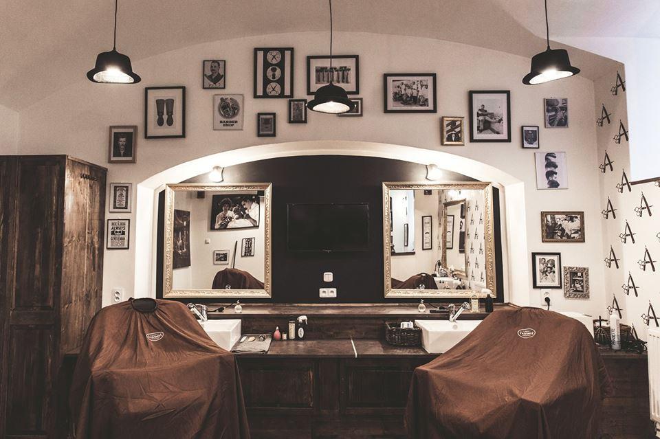 Stylový Adams Barbershop