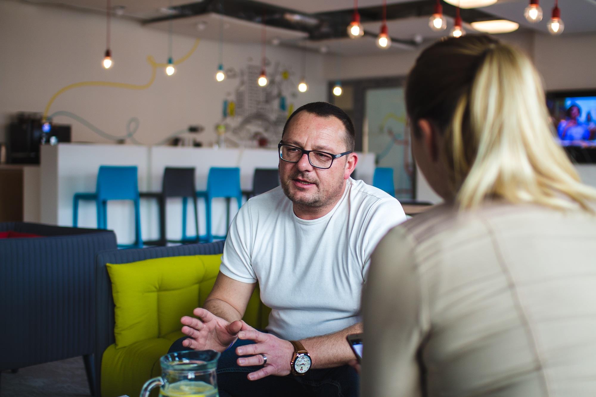 Michal Procházka, teamleader společnosti E.ON