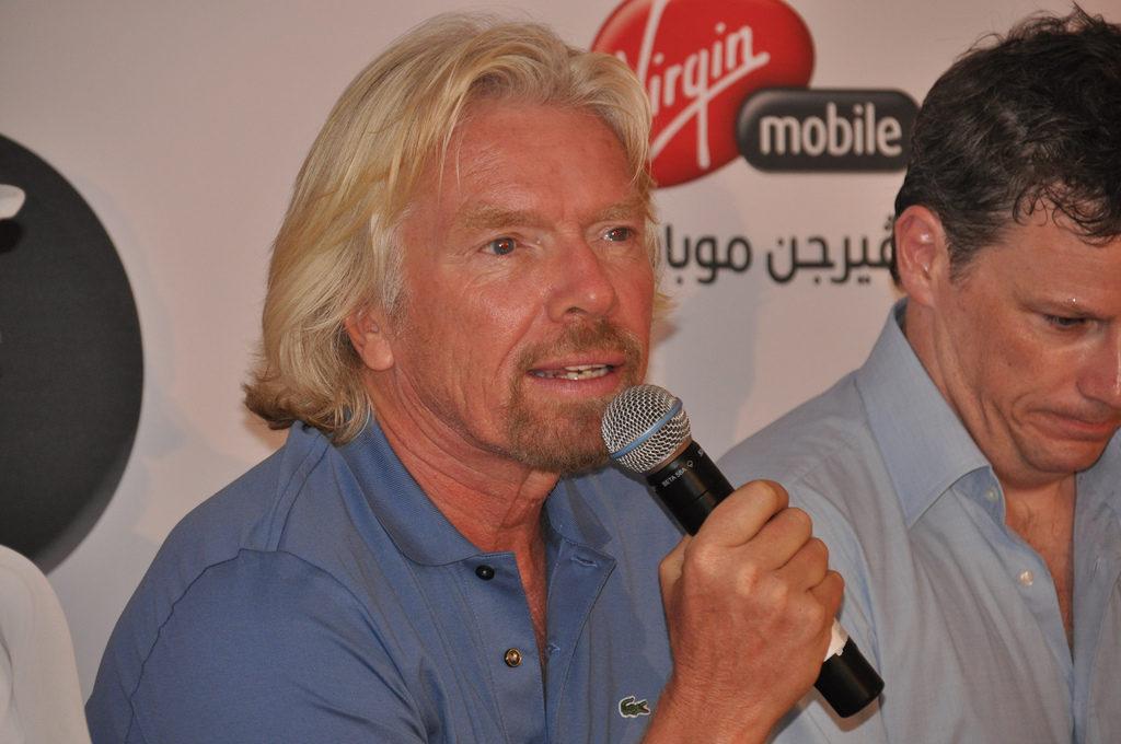 Jak začal rok Richard Branson