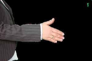 Podaní ruky je v obchodu zásadním prvkem řeči těla