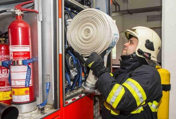 To se tak stane, že bydlíte na hasičské stanici... Aneb klíčový je podle Radima Vajčnera zápal pro věc