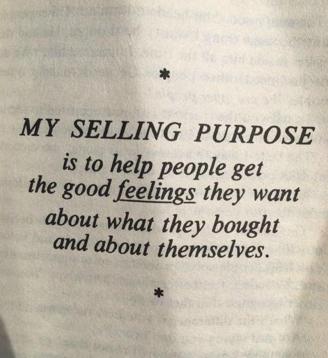 selling purpose