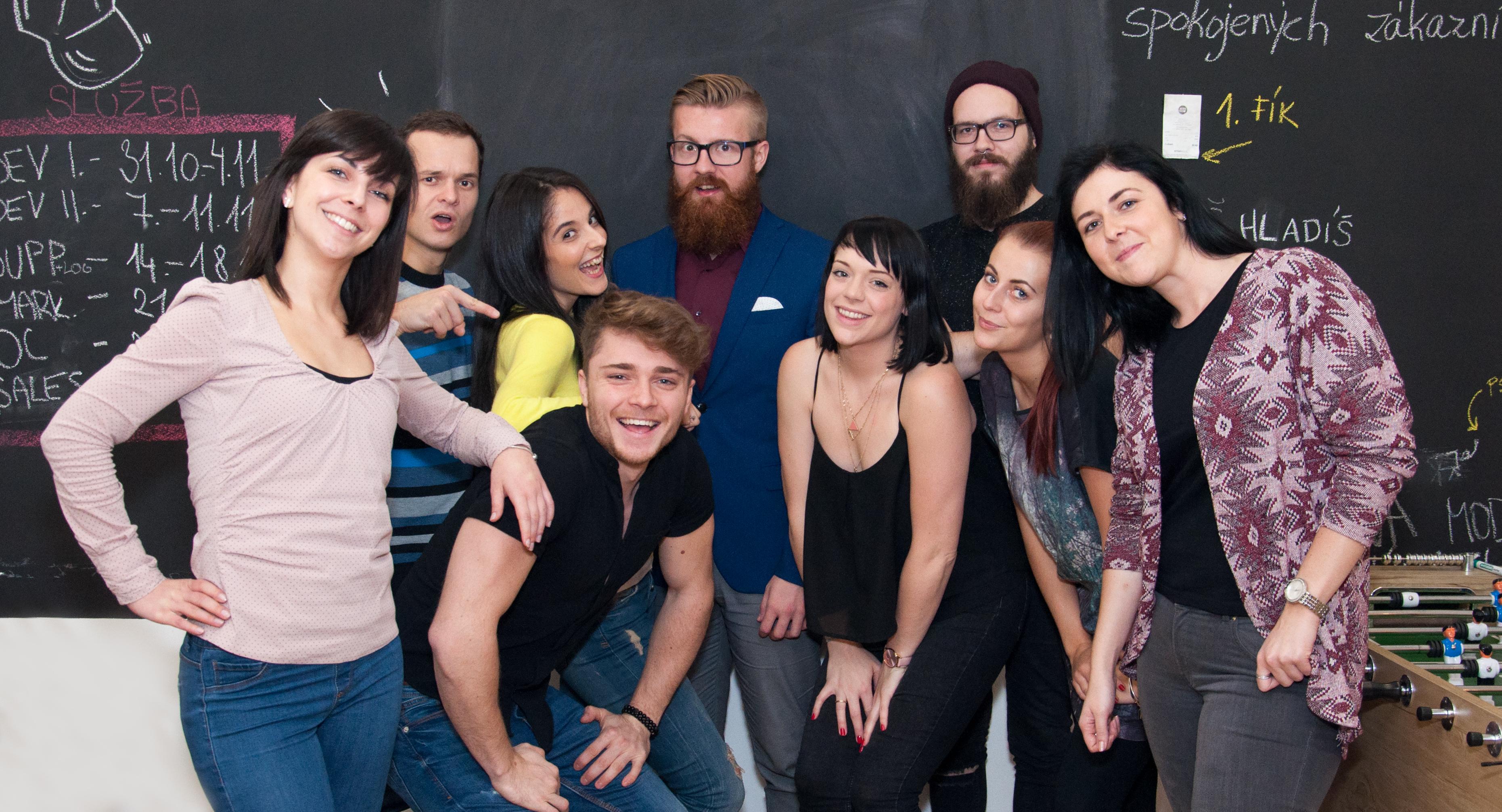 Storyous telesales team