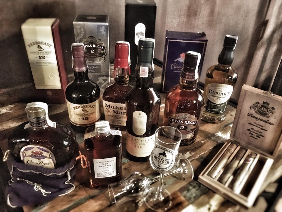 alkohol, koňak whisky
