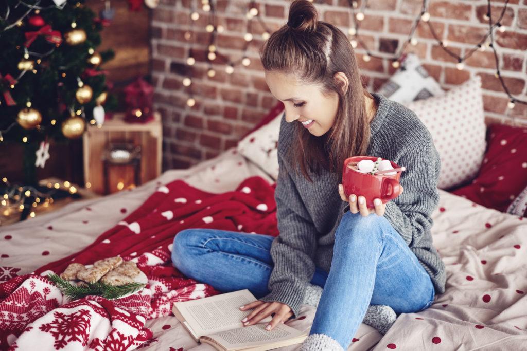 Vánoční sales knihy