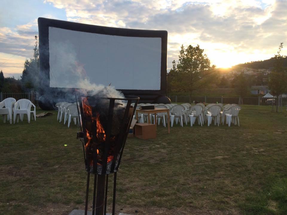Letní kino na Biotopu
