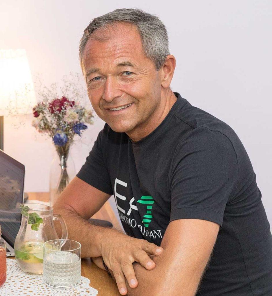 Jan Jan Mühlfeit světoznámý speaker a autor bestsellerů