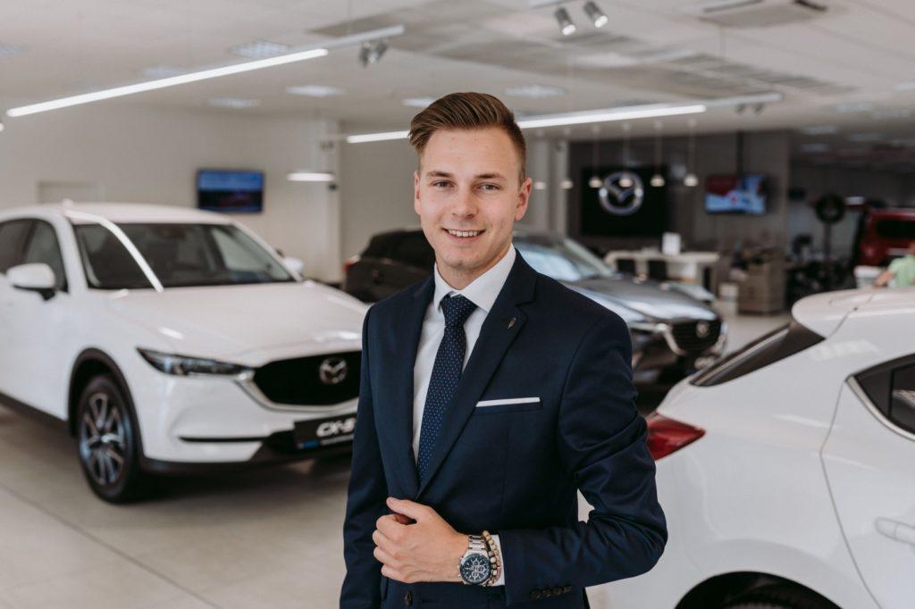 Vozy Mazda jejich prodejce Marek Ježek