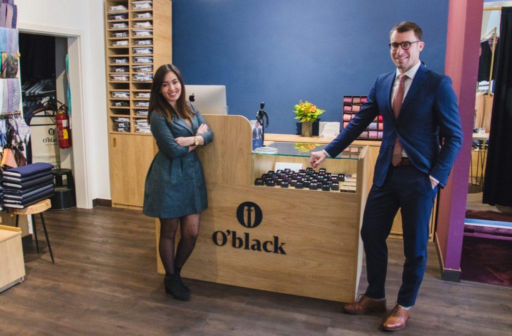 firma O'black - obleky na míru