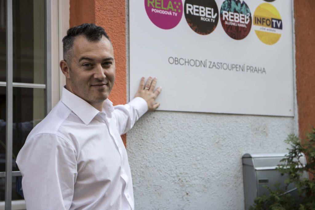 Ředitel Rádia Dálnice Radim Polášek
