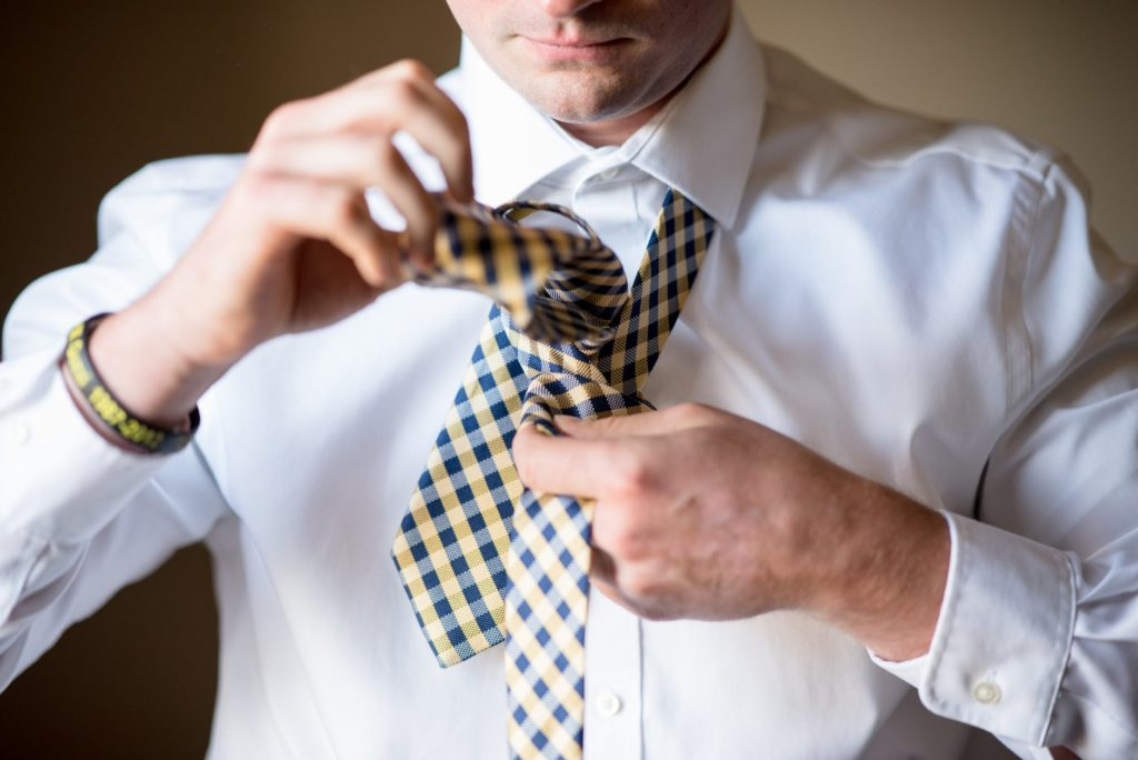 Vázání kravaty