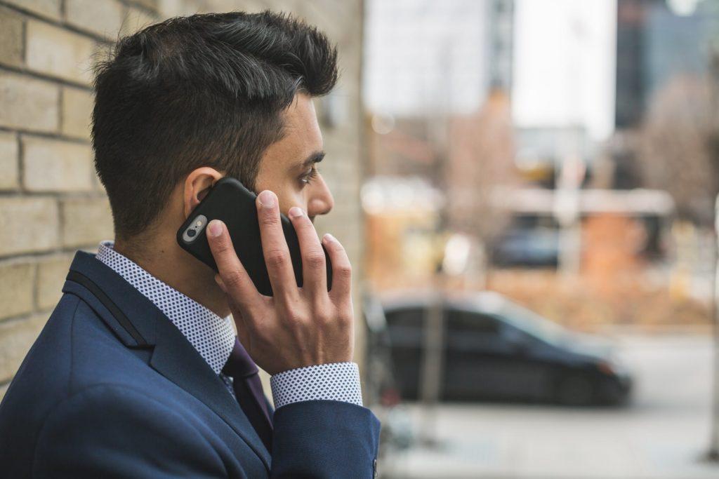 strach z telefonování