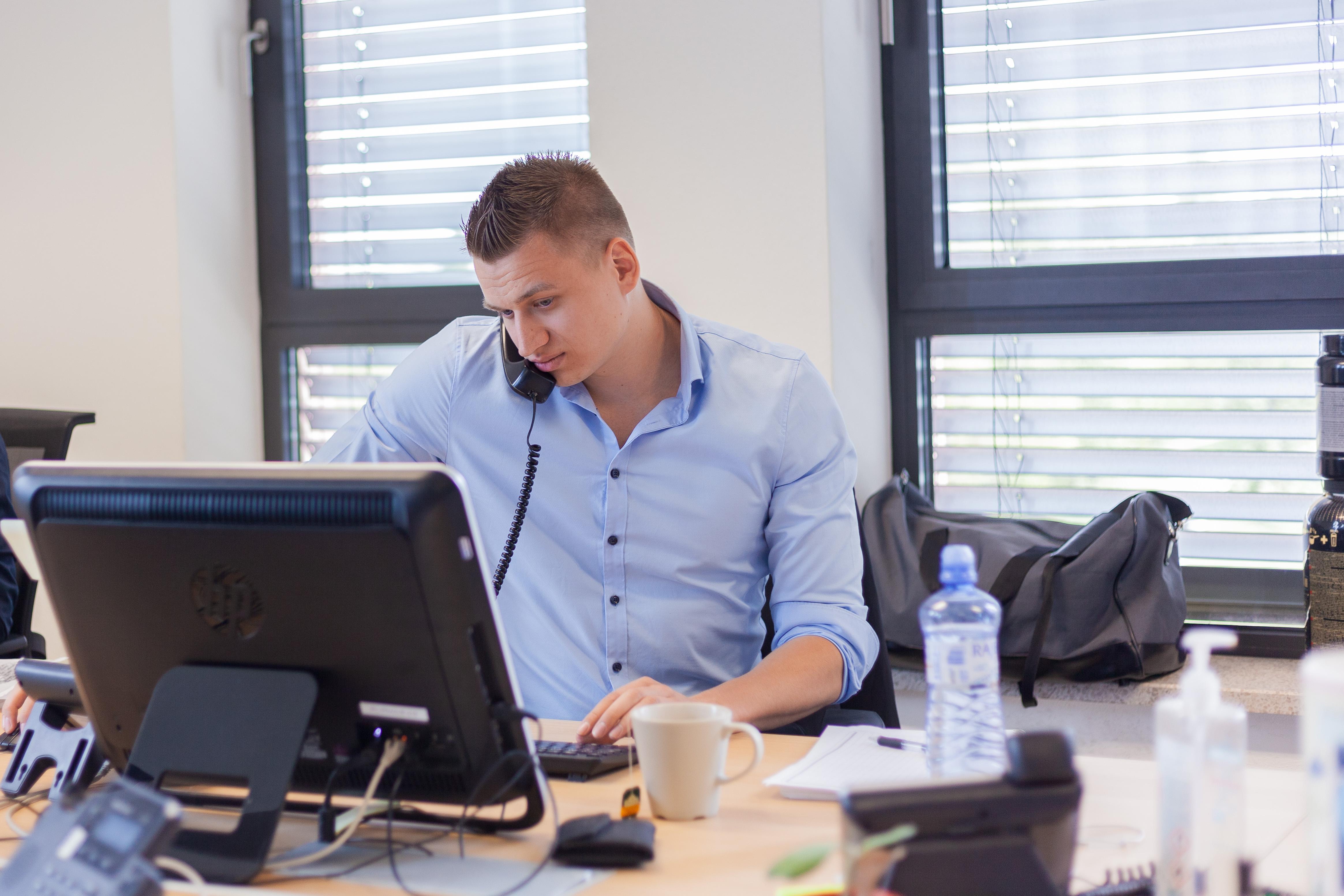 sales manager Jakub Adámek